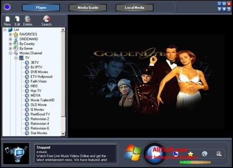 Ekran görüntüsü Online TV Live Windows 7