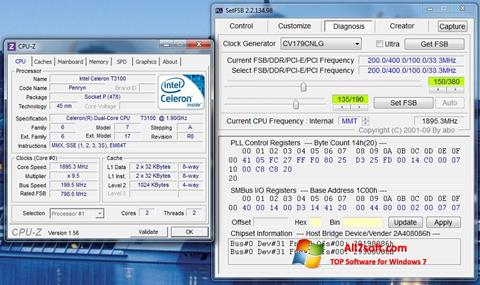Ekran görüntüsü SetFSB Windows 7