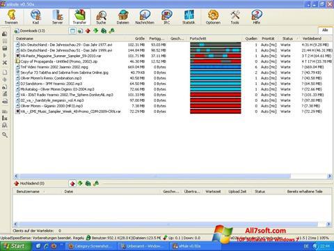 Ekran görüntüsü eMule Windows 7