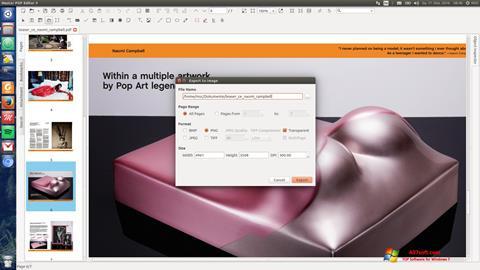 Ekran görüntüsü Master PDF Editor Windows 7