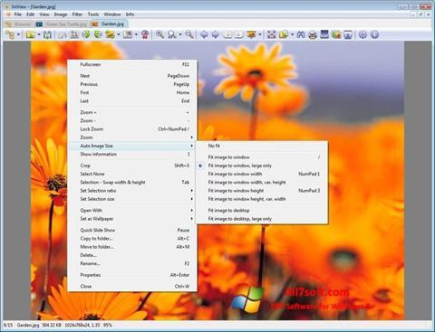 Ekran görüntüsü XnView Windows 7