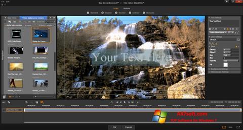 Ekran görüntüsü Pinnacle Studio Windows 7