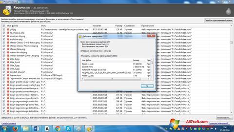 Ekran görüntüsü Recuva Windows 7