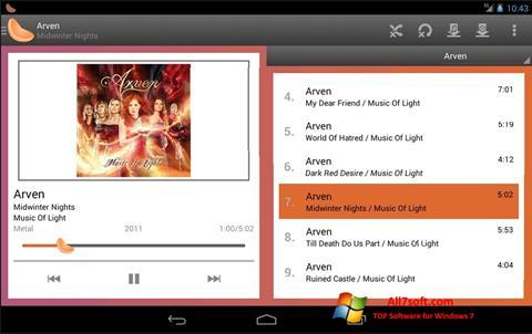 Ekran görüntüsü Clementine Windows 7