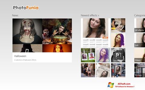 Ekran görüntüsü PhotoFunia Windows 7